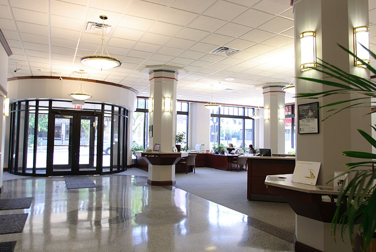 Illinois National Bank Main Branch Renovation