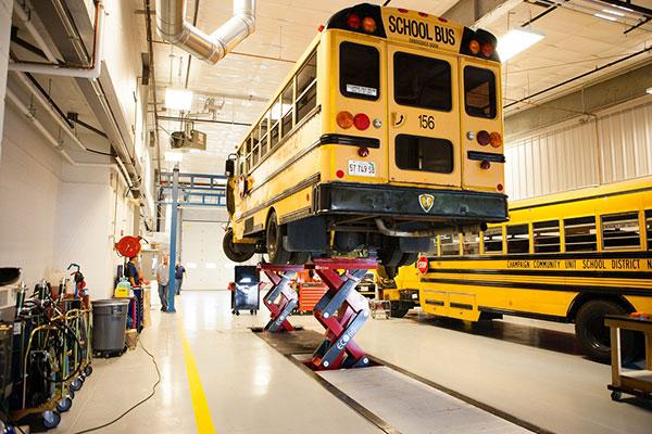 Champaign Unit 4 School District Transportation Center